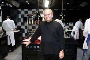 French chef Joel Robuchon.