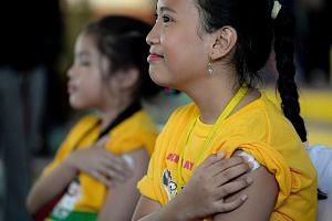 The Philippines in April began injecting up to one million schoolchildren with the world's first vaccine for dengue fever.