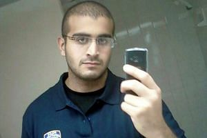 An undated photo from a social media account of Omar Mateen.