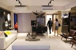 The Visionaire is a new executive condominium in Sembawang with features such as a digital lock and door camera that are connected to the Internet.
