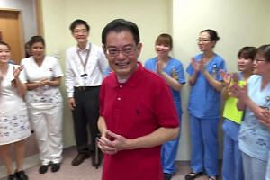 Minister for Finance Heng Swee Keat was discharged from Tan Tock Seng Hospital on Saturday (June 25) after suffering from a stroke more than six weeks ago.