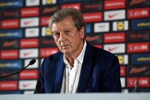 England manager Roy Hodgson speaks at a press conference on June 28, 2016, after his resignation.