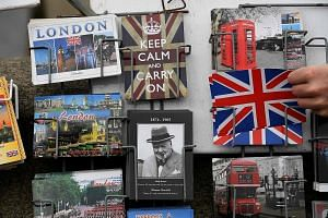 Mr Stephen Crabb was first off the mark in declaring for the Tory top post. Winston Churchill and the Union Jack feature on postcards as Britain comes to grips with its Brexit vote, with the ruling Tories set to elect a new leader and the opposition