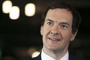 George Osborne speaks at The Times CEO summit in London, on June 28, 2016.