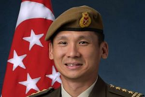 Chief of Defence Force Perry Lim assumed his current post in August last year.