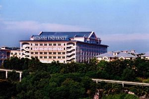 The building of Monash University in Malaysia.