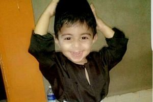Mohamad Daniel Mohamad Nasser, aged two, was abused for 25 days over a 35-day period.