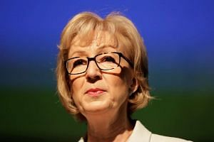 Andrea Leadsom speaks at a news conference in central London, on July 7, 2016.
