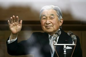 Emperor Akihito, 82, has had health problems in recent years. Crown Prince Naruhito, 56, is next in line to the throne.