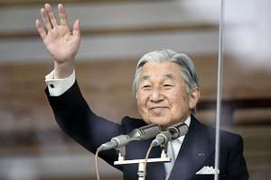 Japan's Emperor Akihito, 82, has reigned for 28 years, after succeeding his father Hirohito in 1989.