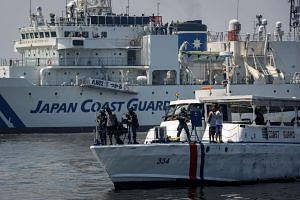Japan and the Philippines held an exercise against piracy off the vicinity of Manila Bay amid the ruling of the Permanent Court of Arbitration in Hague on July 12.