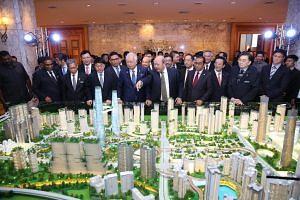 The 196ha development will be home to the Malaysian terminus of the Kuala Lumpur- Singapore High Speed Rail.