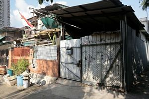 Employers using an illegal makeshift structure (above) off Petain Road in Little India to house their workers have been asked to move them out after a Bangladeshi worker who lived there died, possibly due to a rat-borne disease earlier this month.