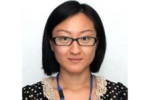Ms Cui (above) was last seen at Fusionopolis Walk on July 11 at about 9.15pm.