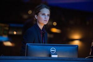 Alicia Vikander is a CIA computer specialist with an ambiguous moral code in Jason Bourne.