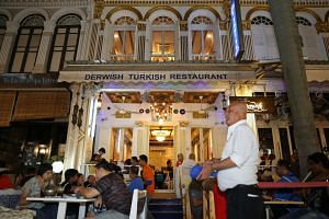 The Derwish Turkish is one of the last remaining licensed retailers in Bussorah Street to sell shisha, before the ban kicks in next week. Its owner, Mr Salim, is not too worried, however. He has restructured his business and is now focused on making it a