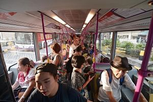 """The requirements of """"increased service frequency and less bus bunching"""" are clearly spelt out in the new contracts, said Dr Park of SIM University."""