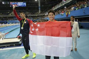 Joseph Schooling is scheduled to touch down at Changi Airport at 5.30am on Singapore Airlines flight SQ67.