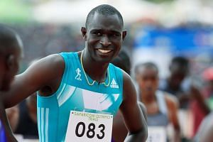 Kenya's David Rudisha cemented his status as the best middle-distance runner ever by retaining his 800m Olympic title.