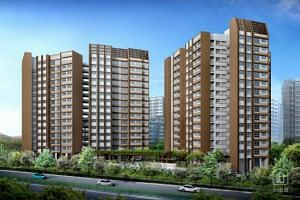 Artist impression of Buangkok Woods in Hougang.
