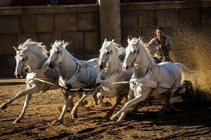 The horse chariot race is still the highlight of this latest adaptation of Ben-Hur.