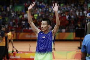 This is Lee Chong Wei's third straight silver medal at the Olympics.