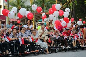 "PM Lee said ElderShield was the ""one remaining piece to strengthen"" to manage the challenges of a rapidly ageing society."