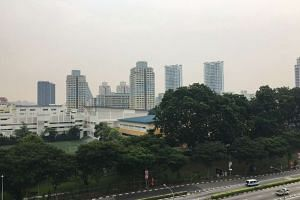 The view at Toa Payoh North at 10am.