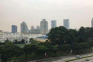 The view at Toa Payoh North at 10am.