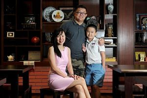 Primary 6 pupil Emmanuel Soh, who has Asperger's Syndrome, struggled with English until he joined an English foundation class led by Mrs Wang-Lim Ai Lian (left). Her constant care and guidance helped him develop an interest in the subject. With them