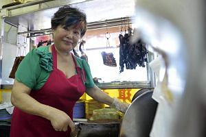 Madam Betty Kong, owner of Kay Lee Roast Meat Joint.