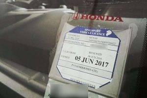 The Land Transport Authority announced on Aug 29 that it will stop issuing road tax discs from Feb 15, 2017.