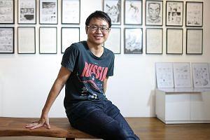 Singapore writer Sonny Liew.