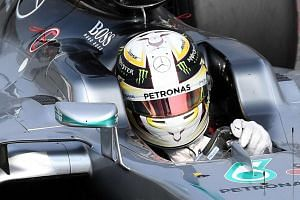 British Formula One driver Lewis Hamilton during the second practice session of the 2016 Formula One Grand Prix of Italy in Monza on Sept 2, 2016.