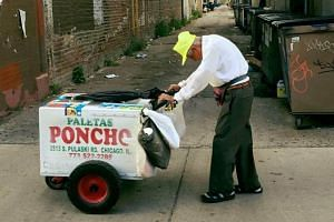 Mr Fidencio Sanchez, 89, retired two months ago but had to return to work after the death of his only daughter in July.