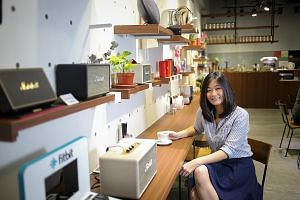 Miss Kristy Song is the founder of Zeppelin & Co, which has built up a steady following just three months after opening. Its open, casual nature made it a hangout for those looking for a place to meet.