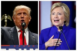 US presidential candidates Donald Trump (left) and Hillary Clinton will have their first head-to-head debate at Hofstra University on Sept 26, 2016.