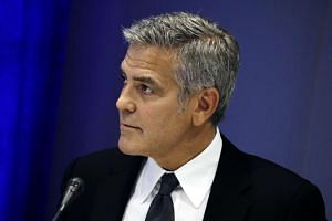 A UN reporter had to ask George Clooney about Brad Pitt's divorce.