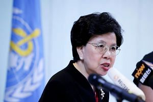 Six international health experts are set to compete to replace WHO director general Margaret Chan (above) when she ends her tenure next June.