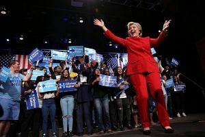 Democratic candidate Hillary Clinton performed better than her Republican rival Donald Trump in their first presidential debate on Monday (Tuesday Singapore time), according to polls.