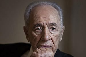 A picture of then Israeli President Shimon Peres taken in New York in 2012. He never left the public stage during Israel's seven decades.