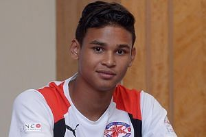 Irfan Fandi is slated to make his senior team debut soon. The Lions face Malaysia and Hong Kong over the next two weeks.