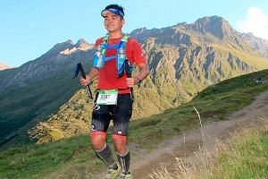 Mr Woon started running three years ago to get in shape. He joined running competitions locally and overseas, in countries such as Malaysia, the Philippines and Switzerland. He fell to his death last Saturday while training for the Mount Kinabalu Int
