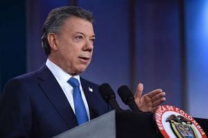 Colombia's president Juan Manuel Santos has won the Nobel Peace Prize this year.