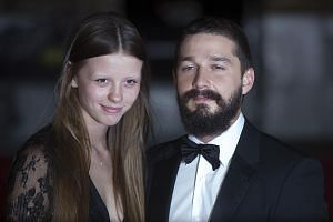 American actor Shia LaBeouf and British actress Mia Goth's wedding was livestreamed on TMZ on Monday.
