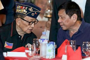 Mr Ramos (left) called Mr Duterte's government a letdown, questioning the priority it has placed in its war on drugs.