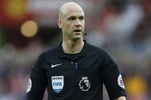Jose Mourinho has joined the chorus of criticism surrounding the appointment of Anthony Taylor (pictured) to referee Manchester United's Premier League game at Liverpool.
