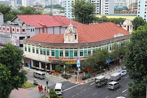 The historical 1924 Ellison Building was initially slated for partial demolition and then reconstruction to make way for a new integrated transport corridor. Yesterday, both the LTA and URA said implementation plans will be finalised only after the c