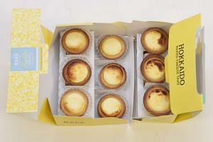 The new Hokkaido Baked Cheese Tart is not to be mistaken for the famous Bake from Hokkaido.