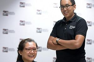 Occupational therapist Adelene Teck is upgrading her skills at SIT after working for 20 years, and SIT engineering student Tengku Muhammad Khalaf is on a year-long internship with SMRT.